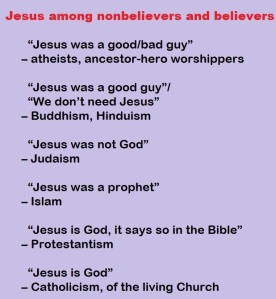 2020-06-05 jesus religion